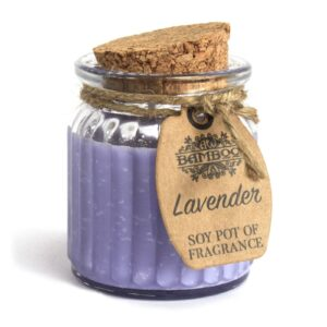 Lavender Soy Pot of Fragrance Candles Soy Pot of Fragrance Candle