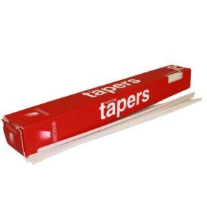 Lighting Tapers  box of 70 Dinner Candles Bulk (100)