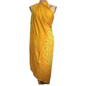 Lime Orange Mandala Sarongs Mandala Sarongs