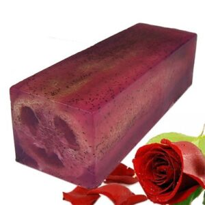 Loofah Soap Loaf Rough and Ready Rose Loofah Soap Loaves and Slices