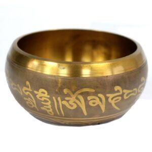 Lrg Five Buddha Singing Bowl Tibetan Singing Bowls