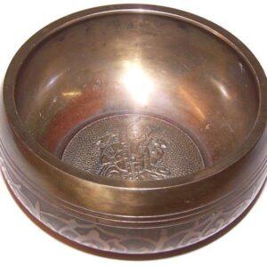 Lrg Ganesh Singing Bowl Tibetan Singing Bowls