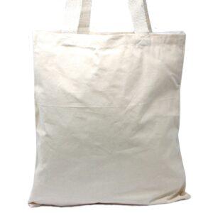 Lrg Natural 6oz Cotton Bag 38x42cm Cotton Tote Bags