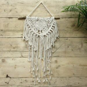 Macrame Wall Hanging Home and Heart Macrame Wall Hanging