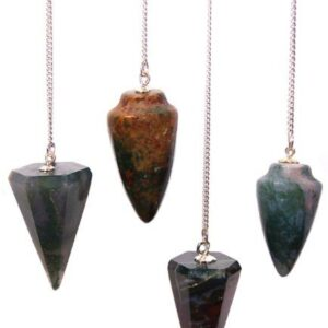 Magic Pendulum Bloodstone Gemstone Magic Pendulums