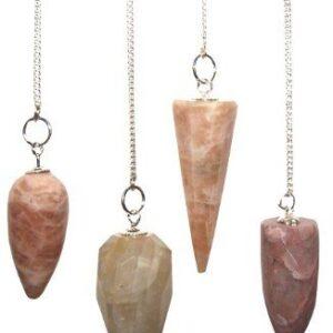 Magic Pendulum Moon Stone Gemstone Magic Pendulums