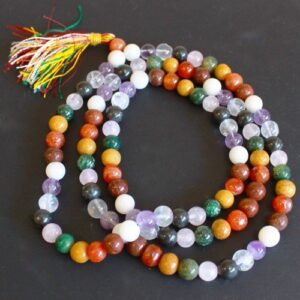 Mala Beads 9 Planet Astro Gemstone Mala Beads