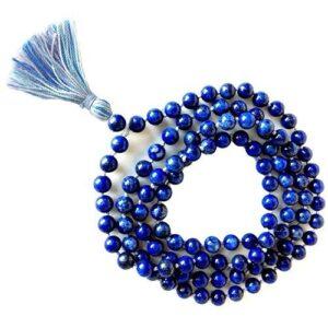 Mala Beads Lapis Gemstone Mala Beads