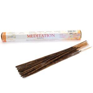 Meditation Premium Incense Stamford Premium Hex