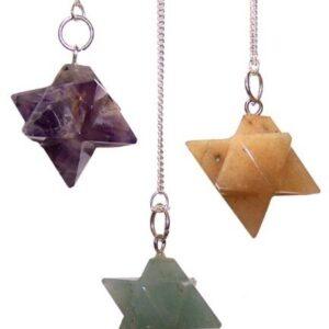Merkaba  star  Pendulums  asst Special Magic Pendulums