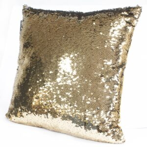 Mermaid Cushion Covers Molten Gold and Quicksilver Mermaid Cushion Covers