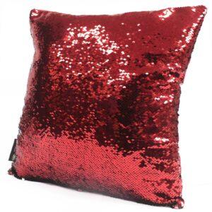 Mermaid Cushion Covers Xmas Red and Green Mermaid Cushion Covers