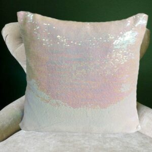 Mermaid Cushions Pink Champagne and Snow Mermaid Cushion Covers