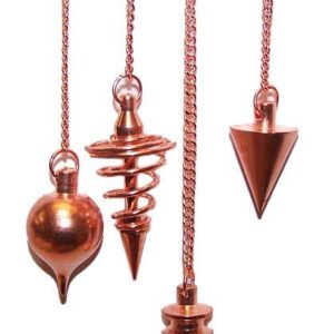 Metal Pendulums Copper  asst Special Magic Pendulums