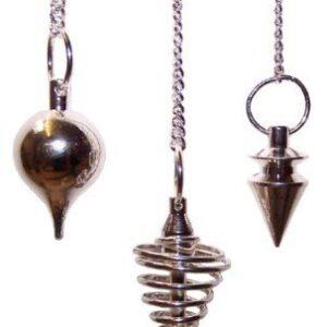 Metal Pendulums Steel  asst Special Magic Pendulums