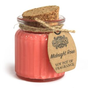 Midnight Rose Soy Pot of Fragrance Candles Soy Pot of Fragrance Candle