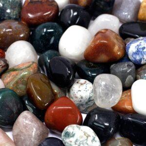 Mixed Gemstones 1kg Mixed Gemstones