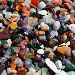 Mixed Natural Gemstone Chips 1KG Mixed Gemstones
