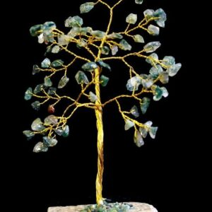 Moss Agate 80 Stone Indian Gemstone Trees