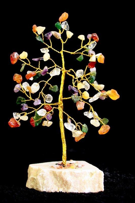 Multi gem 80 Stone Indian Gemstone Trees