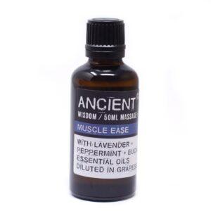 Muscle Ease Massage Oil 50ml 50 ML Bottles