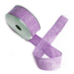 Natural Texture Ribbon 38mm x 20m Lavender Natural Texture Ribbons 38mm x 20m
