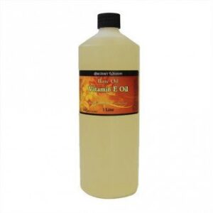 Natural Vitamin E Oil 1 Litre Base Oils - 1 Litre
