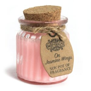 On Jasmine Wings Soy Pot of Fragrance Candles Soy Pot of Fragrance Candle