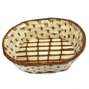 Oval Shape Baskets 23 x 18 x 7 cm Village Baskets