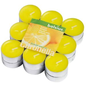 Pack of 18 Citronella Tealights Tealights