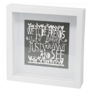 Paper Cut out White Picture Frame Friends Paper Cutout Picture Frames
