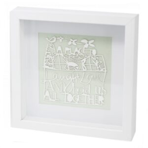 Paper Cut out White Picture Frame Home Paper Cutout Picture Frames