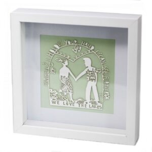 Paper Cut out White Picture Frame Love Lakes Paper Cutout Picture Frames