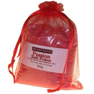 Passion Potion in 200g Bag Aromatherapy Bath Potions in Bags