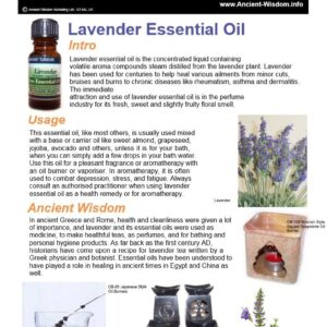 Patchouli Essential Oil Info Essential Oils