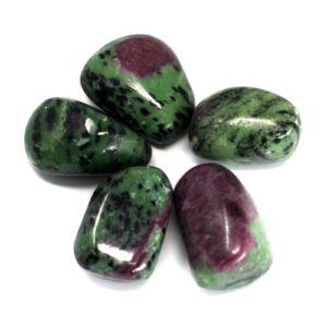 Premium Tumble Stones Ruby Zoisite Premium Tumble Stones