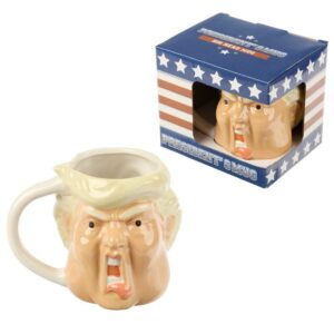 President Shaped Head Mug Mugs as Gifts