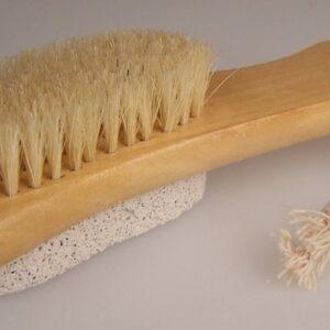Pumice Backed Brush Brush Scrub & Scrape