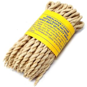 Pure Herbs Cedar Rope Incense Pure Herbs Incense Ropes