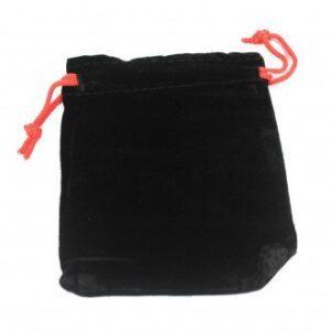 Quality Velvet Pouch Black 10x12cm Quality Velvet Pouches