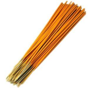 Raw Incense Sticks  approx. 500  Orange Raw (unfragranced) Incense