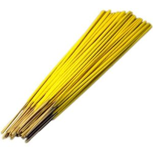 Raw Incense Sticks  approx. 500  Yellow Raw (unfragranced) Incense