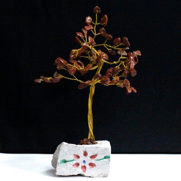 Red Jasper 80 Stone Indian Gemstone Trees