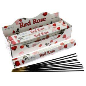 Red Rose Premium Incense Stamford Premium Hex