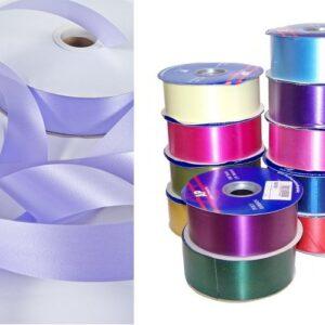 """Ribbon Eggshell Florist Poly-Tear Ribbon - 2"""" x 100yds"""