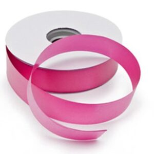 "Ribbon Pink Florist Poly-Tear Ribbon - 2"" x 100yds"
