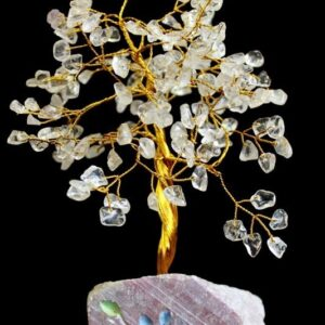 Rock Crystal 160 Stone Indian Gemstone Trees