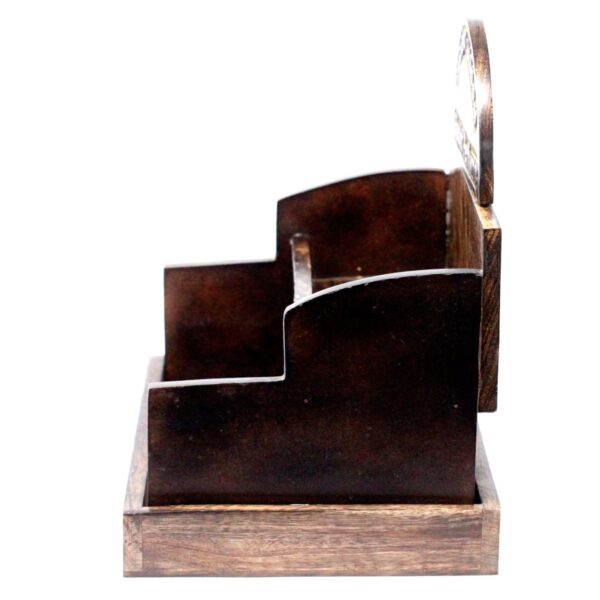 Room Perfume Display Stand Mango Wood