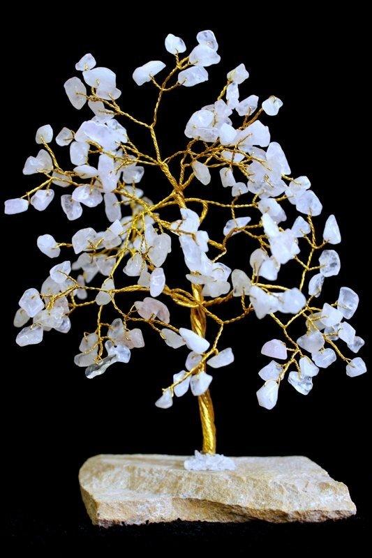 Rose Quartz 160 Stone Indian Gemstone Trees