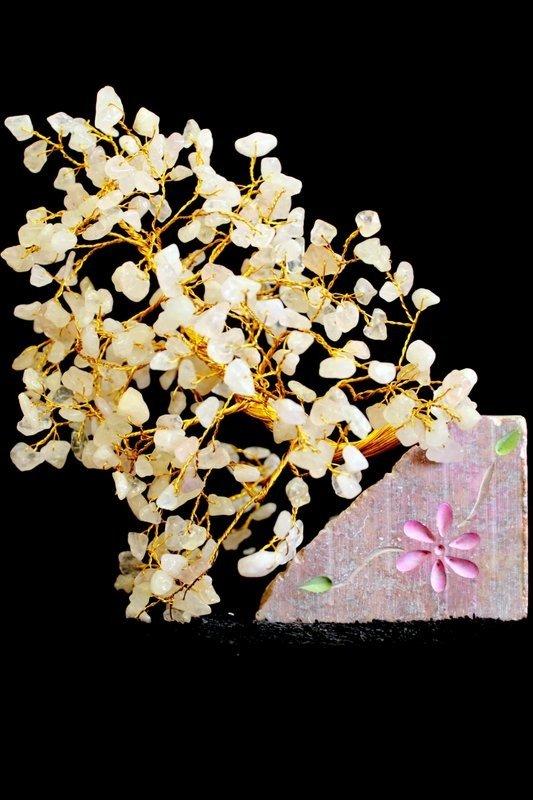 Rose Quartz 320 Stone Indian Gemstone Trees